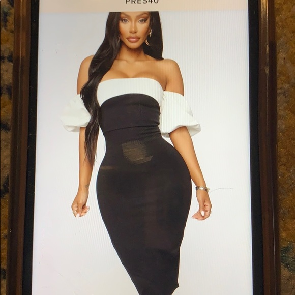Fashion Nova Dresses & Skirts - Cute of the Shoulder mini dress